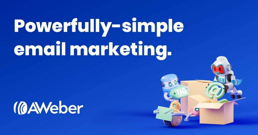 aweber email strategy marketing