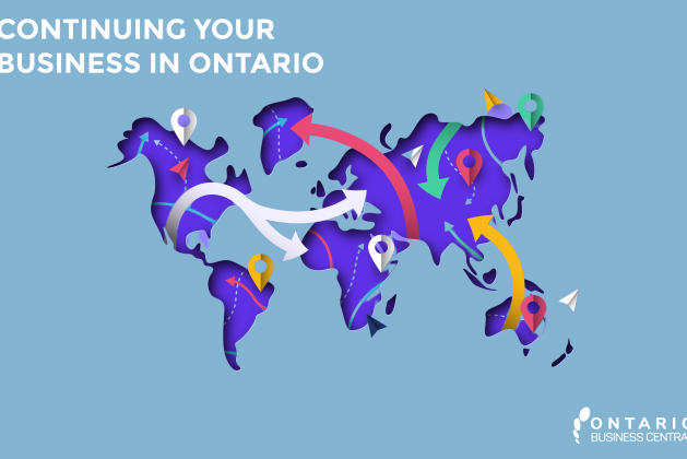 Continue your Business into Ontario